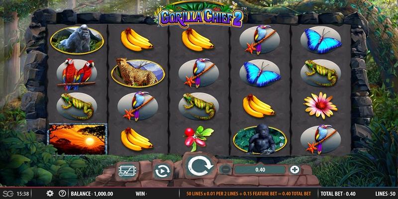 Gorilla Chief 2 slot