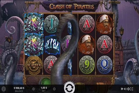 Clash of Pirates Slot Reels
