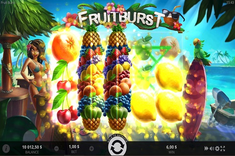 Fruit Burst Slot Reels