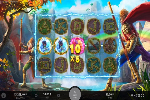 Journey to the West Slot Reels